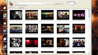 usando mp3 downloader e video search