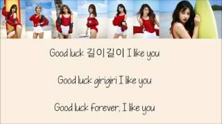 AOA - Good Luck [Hang, Rom & Eng Lyrics]