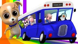 Wheels On The Bus | Junior Squad | Kindergarten Songs | Nursery Rhymes For Babies by Kids Tv
