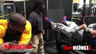 Hide Yamagishi & Lionel Brown train Quads with Charles Glass