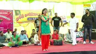 लड़कियाँ वीडियो से दूर रहे | Chhori बिंदास | SAPNA NEW STAGE DANCE 2017 | SAPNA LATEST DANCE