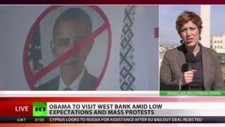 Gaza rockets fired at Israel as Obama's visit continues
