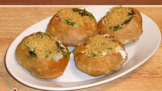 Raj Kachori (Chaat) Recipe by Manjula, Indian Snacks