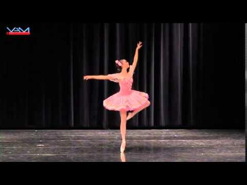 Madeline Davis 14 YAGP 2014 San Diego Semi Finals 3rd Place Fairy Doll Variation