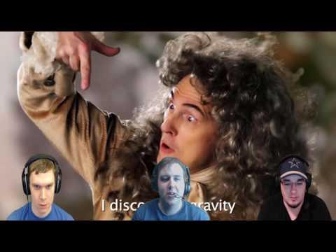 ERB - Isaac Newton vs. Bill Nye   DarkStar Reacts