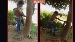 Etah: Minor boy tied to tree, beaten up over allegedly stealing muskmelon