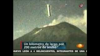 Ovni volcan Popocatépetl Octubre 2012