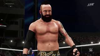 WWE 2K18 Eric Young Entrance