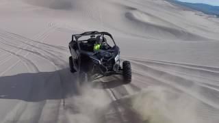 2017 Can-Am X3 VS 2017 Polaris XP Turbo in the dunes RAW - Dirt Wheels Magazine