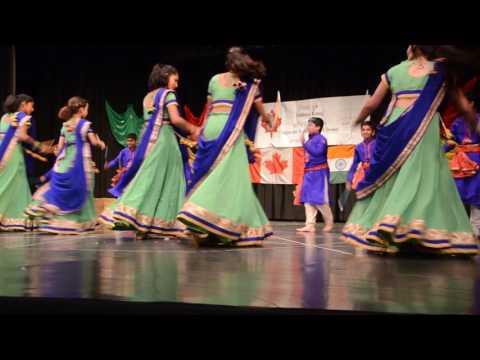 Aadi Gujarati School Garba performance 2016 - part 1