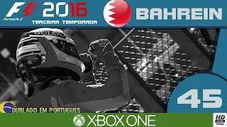 F1 2016 #45 CARREIRA - GP DO BAHREIN - FOI UMA CORRIDA CONTURBADA (Português-BR)