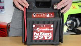 12 volt Portable Jumpstarter - ProStart 2212
