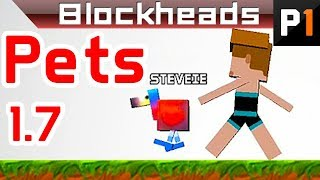 Blockheads 1.7 - Taming a pet dodo!