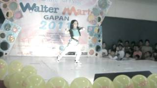 8 year old pinay girl dancing poppin and hiphop in talent portion - Hanyzel cenon