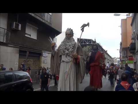 XXVI Trobada de gegants i capgrossos de l'Hospitalet de Llobregat