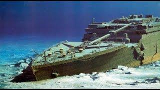 Halen Batık Halde Bulunan Titanik Gemisinin Görüntüleri