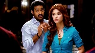 Ramayya Vasthavayya Telugu Movie Comedy Scenes - NTR Theta Telugu Song Singing - Shruti Hassan