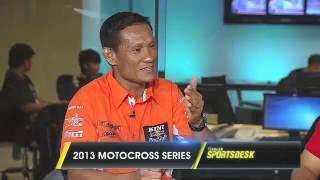 Motocross Champion Glenn Aguilar and Sam Tamayo on Sports Desk