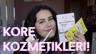 KORE KOZMETİKLERİYLE MAKYAJ! + ÇEKİLİŞ (www koredenkozmetik com)