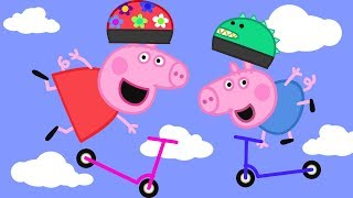 Peppa Pig English Episodes in 4K | Scooters! #PeppaPig