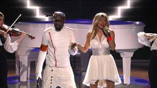 The Black Eyed Peas-Just Can't Get Enough Live American Idol 2011