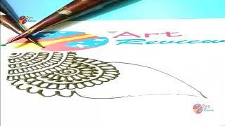 How to make henna Mehndi Designs for Bridal ❤❤ Simple Mehendi Design 2018 series VI