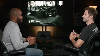 Zack Snyder about BATMOBILE «Batman v Superman» [+SUBTITLES]