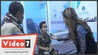 عمار ابن 8 سنوات يروى قصة قصفه بالصاروخ لليوم السابع