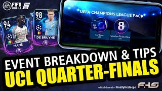 FIFA Mobile 19 - UCL Quarter-Finals Tournament Breakdown and Guide to Master Players