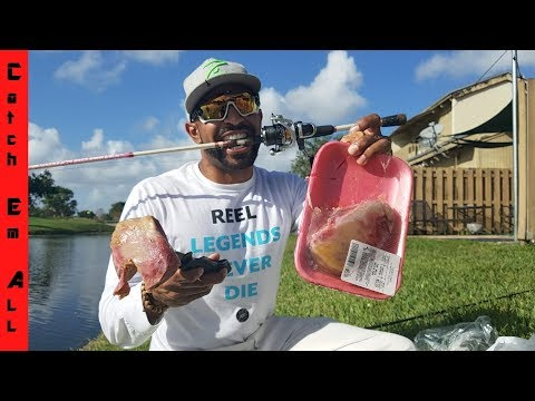 BULL TESTICLES CATCH FISH! Fishing with Balls on godline