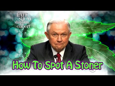 Jeff Sessions Stars In How To Spot A Stoner
