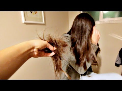 CUTTING OFF MY SISTERS LONG HAIR