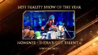 NOMINEE - AVTA2015 - INDIA'S GOT TALENT 6