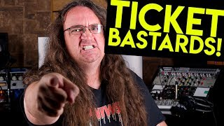 #Ticketmaster exposed - How they help scalpers rip you off!