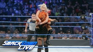 Becky Lynch & Nikki Bella vs. Alexa Bliss & Carmella: SmackDown LIVE, Nov. 1, 2016