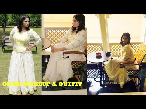 Onam Makeup & Outfit Tutorial - South Indian Makeup | 2016 |