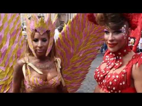 Beautiful Transgender at 2016 Rome Gay Pride Parade