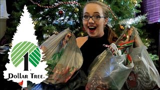 Dollar Tree Haul | Christmas Stuff 2015