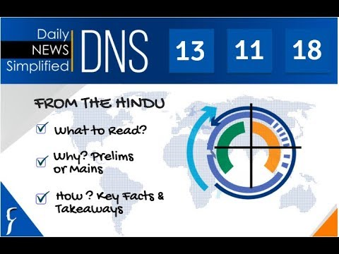 Xxx Mp4 Daily News Simplified 13 11 18 The Hindu Newspaper Current Affairs Analysis For UPSC IAS Exam 3gp Sex