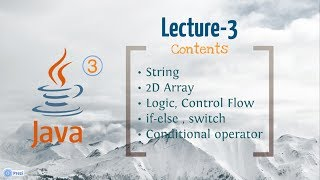 Java , OOP, Android Lecture 3(In Bengali)(বাংলা)