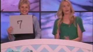 Ellen DeGeneres and Portia de Rossi Play the Newlywed Game