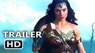 WONDERWOMAN Official International Trailer (2017) Superhero Movie HD