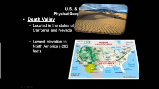 North America Physical Geography Part 2