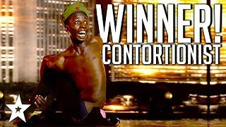 CRAZY CONTORTIONIST Wins Africa