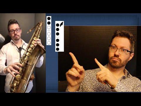 Xxx Mp4 🎷 Tenor Sax Finger Chart Bb Tenor Saxophone Fingerings For Notes 3gp Sex