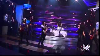 Escape The Fate   Gorgeous Nightmare Live on Daily Habit) HD