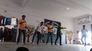 Dav Dbg dance on vande matram abcd 2 song
