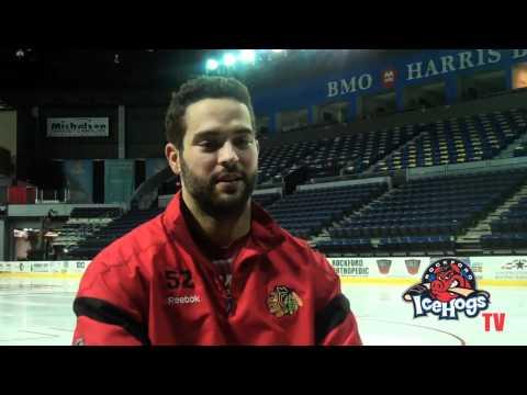 IceHogs Player Profile: Winger Brandon Bollig