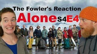 The Fowler's Reaction to ALONE S04 E04  (History's Alone Season 4 Episode 4)