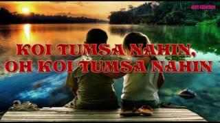 Koi Tumsa Nahin {Full Song} Krrish 2006 HD LYRICS | 1080p BluRay Music Videos YouTube